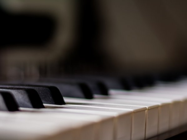 Instrument Musical Piano Blurred Music Blur